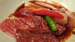 「代官山焼肉 kintan」の焼肉ランチ