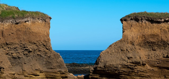 View Through the Cliffs by stuarttarn